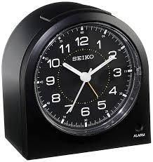 seiko qhe085klh bedside alarm clock watches