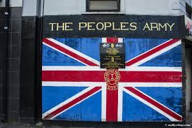 Irish Flag Shot Belfast A Harsh City Of Contradiction Molly U0027s Bugs