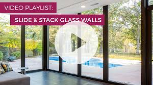 slide u0026 stack glass walls doors u0026 windows solar