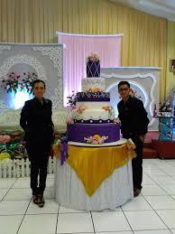 Wedding Cake Tangerang Wedding Cake By The Purple Wedding Cake Bridestory Com