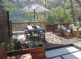 my houzz horizontal deck railing contemporary los angeles with top