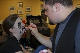 local makeup classes education for horror techniques