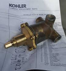 Old Shower Faucet Parts Kohler Niedecken Need Information On Very Old Shower Mixing Valve