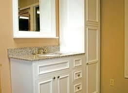 extraordinary oak bathroom cabinet solid oak bathroom wall cabinet