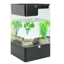 aquarium bureau fish tank carré usb interface aquarium l intégration écologique