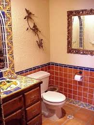 bathroom shower using mexican tiles by kristiblackdesigns com