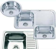 Chioce Of Smallest Round Or Square Stainless Steel Inset Topmount - Square kitchen sink