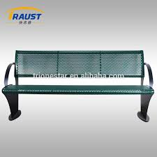 Wholesale Benches Park Resting Metal Bench Chair Outdoor Park Resting Metal Bench