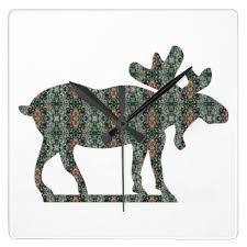93 best moose clock images on pinterest wall clocks moose and