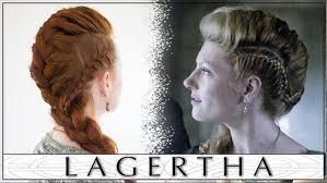 how to plait hair like lagertha lothbrok vikings hair tutorial lagertha s big french braid faux hawk
