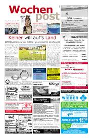 Wohnzimmerschrank Porto Ahorn Die Wochenpost U2013 Kw 41 By Sdz Medien Issuu