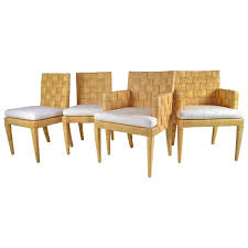Dining Chairs Sets Side And Arm Chairs Donghia Rattan Chairs Block Island Collection For Sale At 1stdibs
