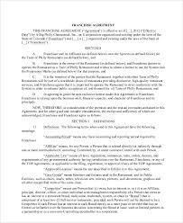 doc 460595 sample franchise agreement u2013 franchise agreement