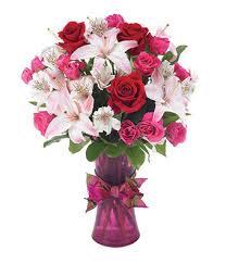 Roses And Lilies Rose U0026 Lily Romance At From You Flowers