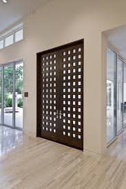 contemporary wood contemporary doors balance cool chic with warmer style jeld wen
