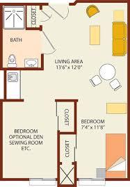 South Ridge Floor Plans Senior Living Floor Plans Wood Ridge Assisted Living
