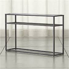 Sofa Table Crate And Barrel Sofa And Console Tables Crate And Barrel