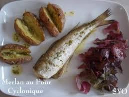 cuisiner du merlan merlan pommes de terre au four cyclonique de mamigoz recette