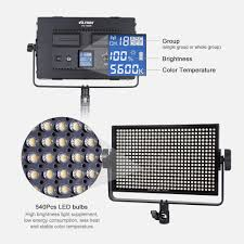 Led Photography Lights Viltrox Vl 40b Professional Ultra Thin Led Video Light Photography