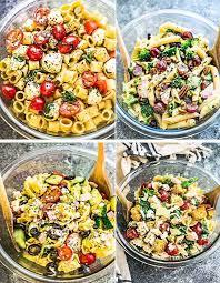 best pasta salad recipe best pasta salads 4 ways meal prep video life made sweeter