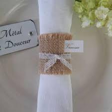rond de serviette mariage lot de 10 ronds de serviette mariage ou baptême esprit chêtre