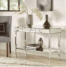 console table tv stand mirrored console table sofa accent vanity mirror tv stand room