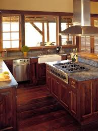 Rustic Style Kitchen Cabinets 46 Best Rustic Kitchens Images On Pinterest Dream Kitchens