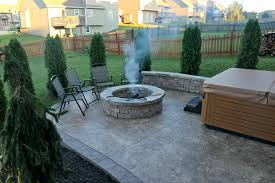 Pictures Of Fire Pits In A Backyard by Fire Pits Wood Burning Or Gas For Your Back Yard