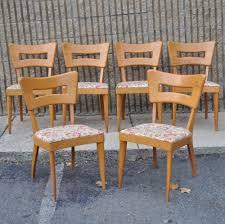 Heywood Wakefield Dining Room Set Heywood Wakefield Dining Chairs Set Of 6 Heywood Wakefield Dining