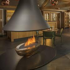 gas fireplace contemporary original design open hearth gas