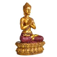 aliexpress com buy with folded hands shakya mani buddha statue