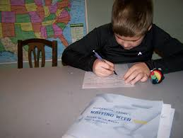 dyslexia writing paper homeschooling the dyslexic child handwriting and copy work