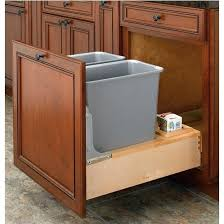 Free Standing Storage Cabinet Plans by Kitchen Garbage Can Storage Cabinet Trash Can Storage Cabinet Diy