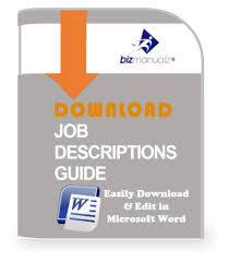 write job descriptions