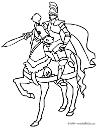 knight coloring page knight on horse coloring page free printable