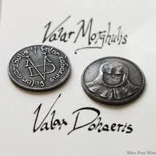 amazon com game of thrones fully licensed iron coin of the