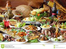 traditional buffet ramadan buffet spread stock photo image 69380347