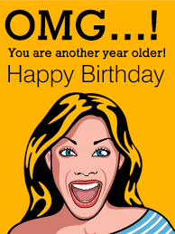 shocking face funny birthday card birthday u0026 greeting cards by davia