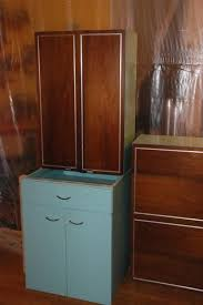 Cabinet Wood Doors Erika S Metal Kitchen Cabinets With Wood Doors Retro Renovation