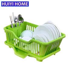 Kitchen Sink Dish Rack Basket Holder Dish Rack Kitchen Sink Drainer Tray Drying Organizer