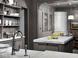 grey kitchen cabinets with granite countertops pictures of kitchens with gray cabinets plain wooden coutner
