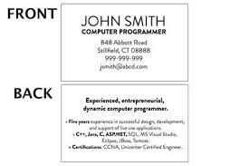 Resume Sample For Programmer by What Is A Mini Resume