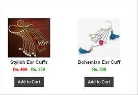 ear cuffs online shopping buy jewellery online in pakistan jmc nail islamabad