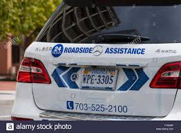 mercedes road side assistance mercedes 24hr roadside assistance vehicle usa stock photo