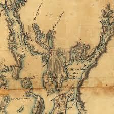 Nantucket Map Massachusetts 1775 Blaskowitz Manuscript Map Battlemaps Us