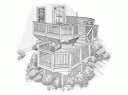 deck plans deck design plans at eplans com floor plans for decks