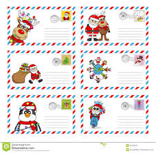 santa claus letters letter to santa claus stock photo image 35762410