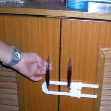 Baby Cabinet Door Locks 2pcs Baby Cabinet Door Drawers Refrigerator Toilet Safety Plastic