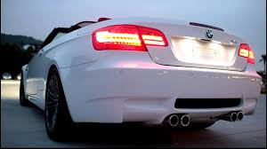 Engine Sound Of 2011 Bmw M3 Convertible Outside Da Car Youtube