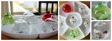 baking soda science erupting ornament activity
